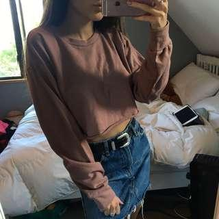 plt cropped sweater