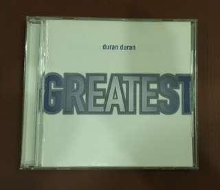 CD Duran Duran - Greatest ( Compilation ) EU Press