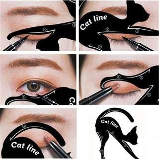 Cat Eye Eyeliner & Eyeshadow Stencil Set