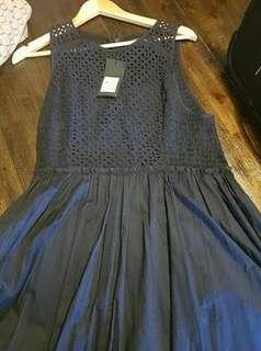 Portmans navy lace dress