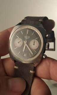 Heuer 古董計時錶 vintage chronograph watch 有盒有保用證