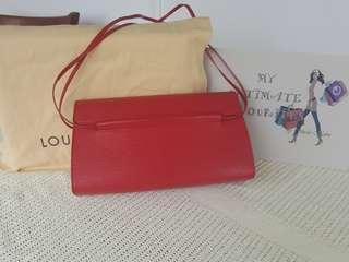 Authentic Louis Vuitton Dinard Epi Red
