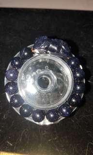 藍晶砂手珠