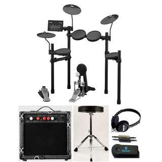 Yamaha DTX452K electronic drumset (NEW!!) + free drum throne + $15 20w amp (in stock) (limited time)