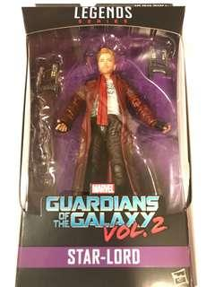 Marvel Legends Guardians of Galaxy Series (漫威傳奇銀河守護隊系列)Star Lord 星爵 不連BAF
