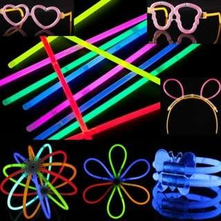 Magic Luminous Glow Light Sticks (Bracelet) Birthday/Party/Gift/Present/Kid/Children
