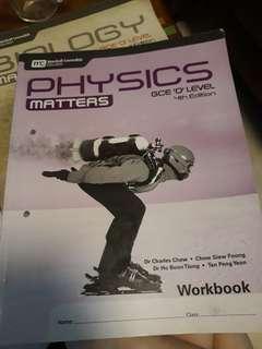 Pure physics workbook