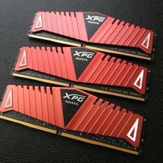🚚 威剛 ADATA DDR4-3000 16GB 超頻記憶體 桌上型電腦 PC RAM