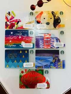 Limited Edition Starbucks Cards PH