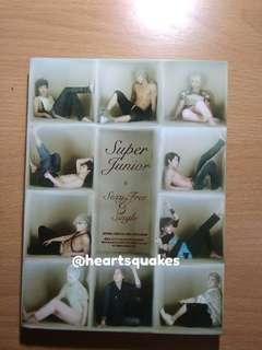Super Junior 6th Album Sexy Free and Single Type B