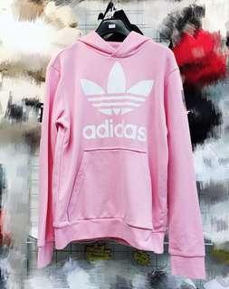 Adidas 女裝長袖䘙衣hoody 經典款