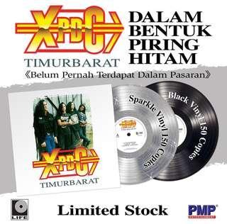 XPDC - TimurBarat Limited Edition LP Vinyl Record (Black Color) - (Stock Ready)