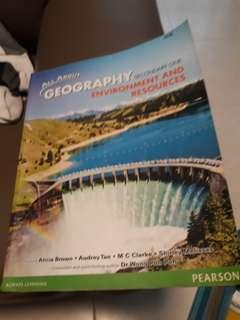 Sec 1 geography textbook