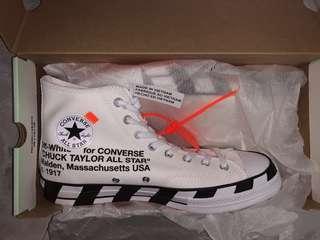 b04bd1de7e1d Off White Converse Chuck Taylors 70 V2 US 12