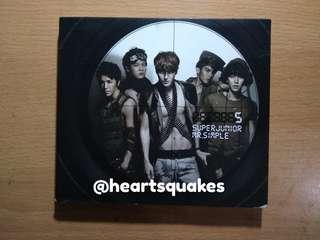 Super Junior 5th Album Mr Simple Repackage Type B