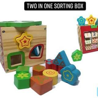 Two in one sorting box