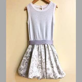 Tarte Tatin Girl's (6Y) Silver Party Dress
