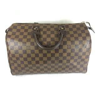 Louis Vuitton Damier Ebene Speedy 30 Handbag