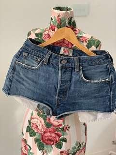 Levi's vintage 501s shorts