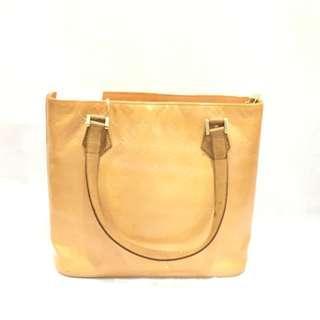 Louis Vuitton Yellow Vernis Houston Shoulder Bag