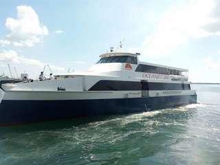 Cebu to Bohol Oceanjet Fast Ferry or vice-versa