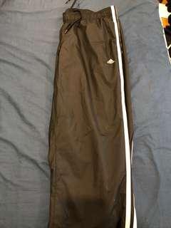 Waterproof climaproof track pants