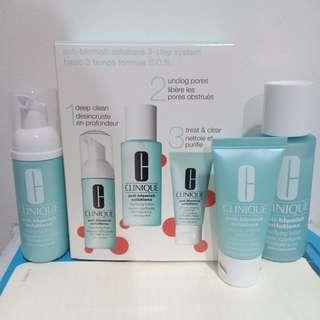 Clinique 3 step acne