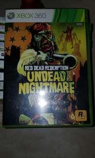 Red dead redemption xbox360 cd sleeve and poster