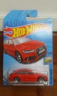 Hot Wheels '17 Audi RS 6 Avant