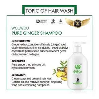 🚚 Pure Ginger Anti Dandruff Wowo Shampoo