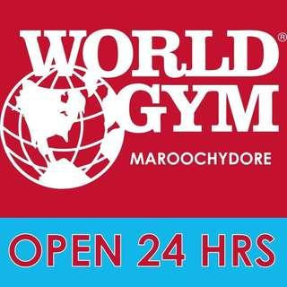 WORLD GYM PREMIUM PASS