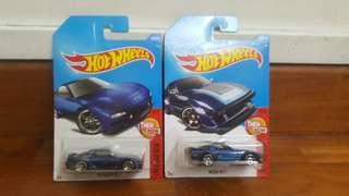 Hot Wheels '95 Mazda RX-7 & Mazda RX-7