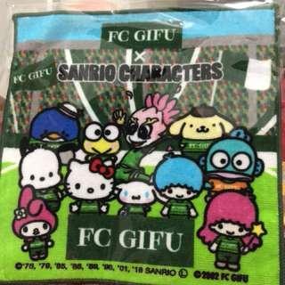 Sanrio x FC Gifu 限量毛巾仔20x20cm