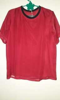 Baju cewek merah