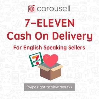 7-ELEVEN service for English sellers
