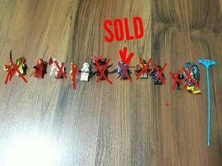 Lego Chima and Ninjago figurines