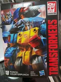 Transformers Hasbro Punch/Counterpunch Brand New Sealed