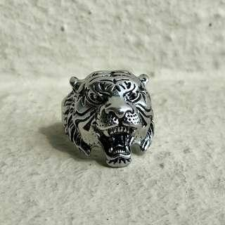 Tiger Stainless Steel Ring