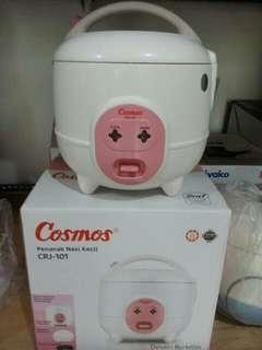 Rice cooker mini cosmos jarang dipakai