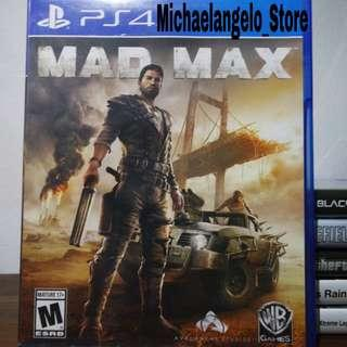 Game Ps4 Mad Max/Plus 2 Add-On/Region All/Original-Second