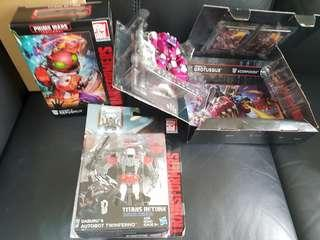 Transformers Hasbro Monsterbots set   Monsterbots Set (sold as a set ONLY) - Repugnus, Twinferno and Grotesque