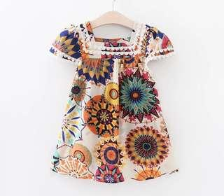 Instock 'sunflower 'design dress