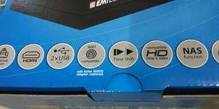 EMTEC Movie Cube Q800 multimedia player with TV record function