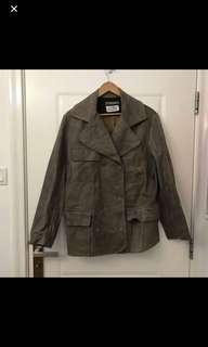 Martin Margiela genuine leather jacket