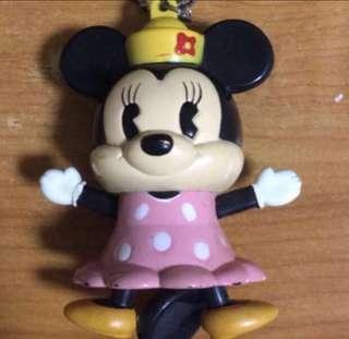 🔥Disneyland Minnie Mouse Necklace/Keychain ♥️