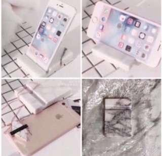 🔥Marble Phone Stand 💕
