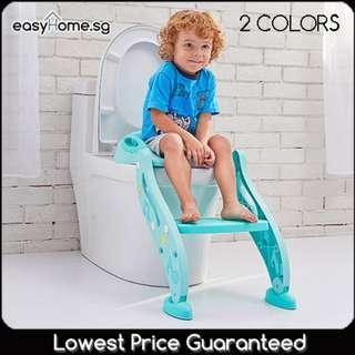 🚚 Mstar Toilet Trainer (Pink or Blue)- Kids Children Potty Urine Training Stairs