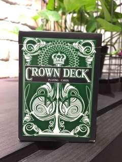 🚚 Force Deck - Crown Deck Green Edition Playing Cards