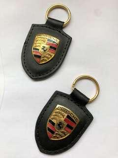 Pair of Porsche keychains (Original)