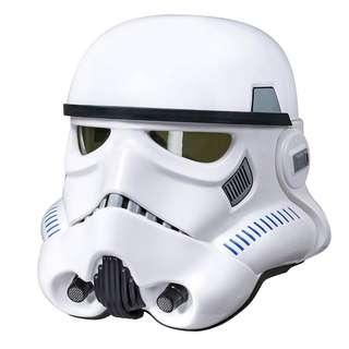 Star Wars The Black Series Rogue One: A Star Wars Story Imperial Stormtrooper Electronic Voice Changer Helmet (Star Wars Roleplay)